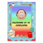 Felicidades en tu cumpleanos greeting cards