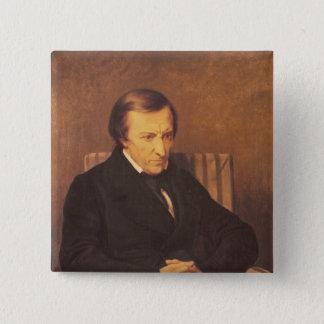 Felicite Robert de Lamennais, 1845 15 Cm Square Badge