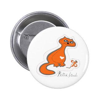 Felid friends buttons