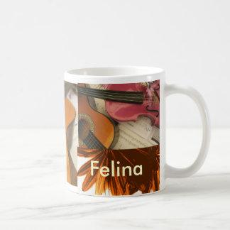Felina Basic White Mug