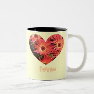 Felina Two-Tone Mug