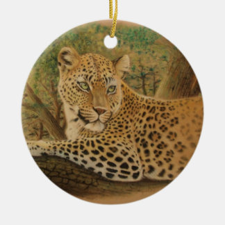 Feline Beauty Christmas Ornament