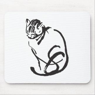 Feline Design Mouse Pad