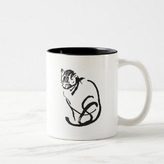 Feline Design Mug
