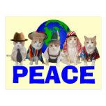 Feline Diplomatic Corps Post Card