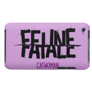 Feline Fatale Barely There iPod Cases