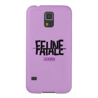 Feline Fatale Galaxy S5 Covers