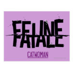 Feline Fatale Postcard
