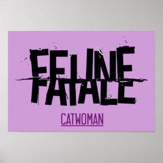 Feline Fatale Print