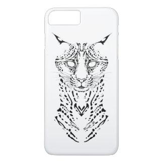 Feline Fatale- Tribal series iPhone 8 Plus/7 Plus Case