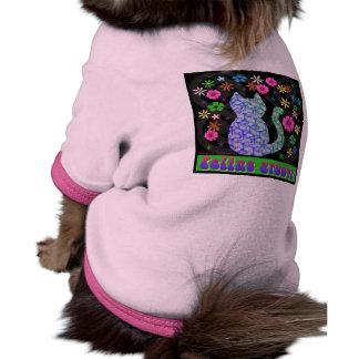 Feline Groovy CAT SHIRT Dog T Shirt