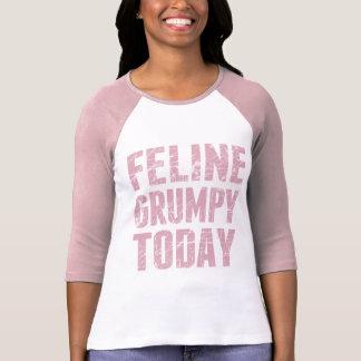 Feline Grumpy Today T-Shirt