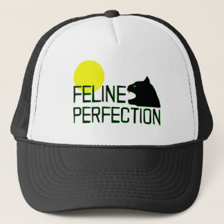Feline Perfection Trucker Hat