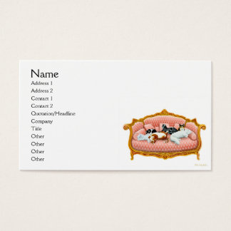 Feline Royalty Business Card