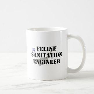 Feline Sanitation Engineer Coffee Mug