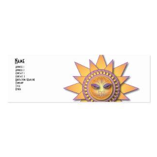 Feline Sunshine Pack Of Skinny Business Cards