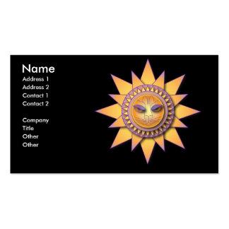 Feline Sunshine Pack Of Standard Business Cards
