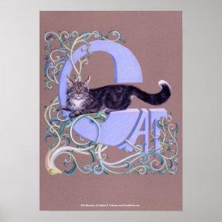 Felis Illumines, Felis Illumines, by Darlene P.... Print