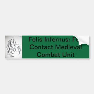 Felis Infernus Dagorhir Bumper Sticker