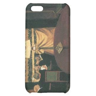 Felix Vallotton - Poker players iPhone 5C Cases