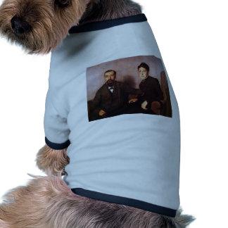 Felix Vallotton - The Artist`s Parents Doggie Tee Shirt