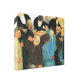 Felix Vallotton - The bistro Stretched Canvas Print