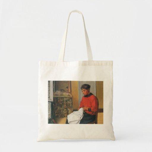 Felix Vallotton - The seamstress Canvas Bag