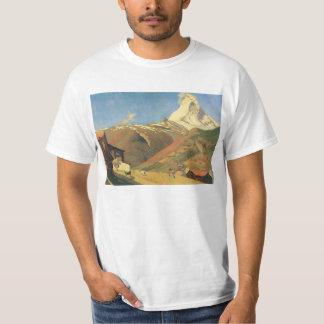 Felix Vallotton - View of Zermatt Tee Shirts