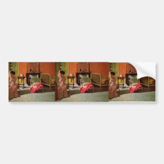 Felix Vallotton - Woman being capped Bumper Stickers