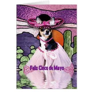 FELIZ CINCO DE MAYO - Chihuahua Card