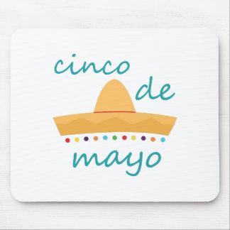 Feliz Cinco de Mayo Mouse Pad