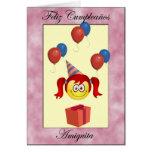 Feliz Cumpleaños Amiguita Cards