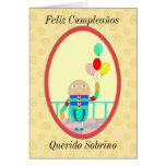 Feliz Cumpleaños Querido Sobrino II Cards