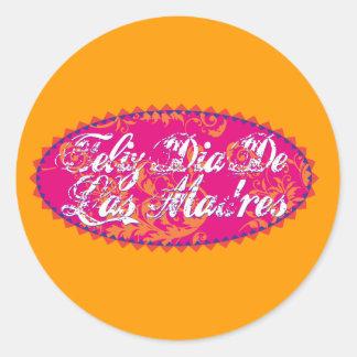 Feliz Dia De Las Madre Stickers