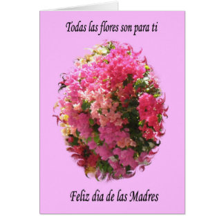 Feliz Dia de las Madres Greeting Card
