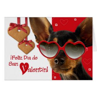 Feliz Día de San Valentín. Spanish Greeting Cards