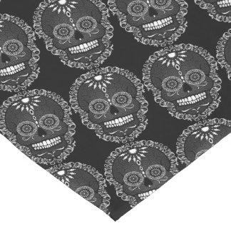 Feliz Muertos - Chic Sugar Skulls Table Runner