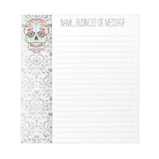 Feliz Muertos - Custom Sugar Skull Notepad