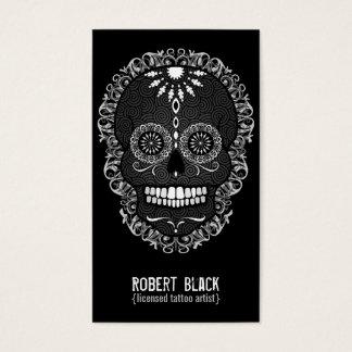 Feliz Muertos - Custom Sugar Skull Vertical Card
