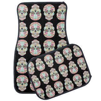 Feliz Muertos - Festive Sugar Skulls Car Mat