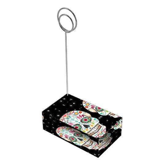 Feliz Muertos - Happy Sugar Skull Card Holder
