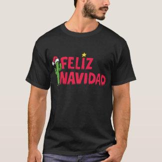 Feliz Navidad Black Sweatshirt T Shirt