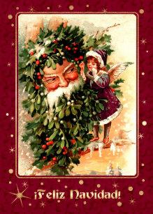 Feliz Navidad Christmas Cards Zazzle Uk