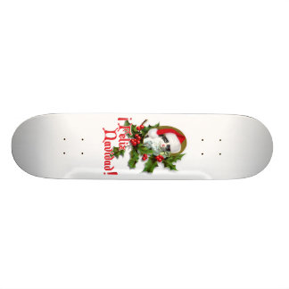 Feliz Navidad - Christmas Kitten 20.6 Cm Skateboard Deck