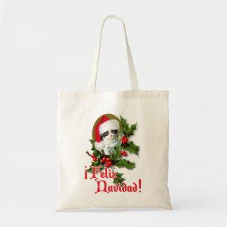 Feliz Navidad - Christmas Kitten Tote Bag