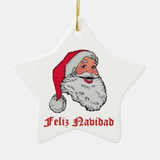 Feliz Navidad Christmas Ornament