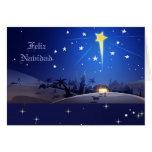 Feliz Navidad. Custom Spanish Christmas Cards