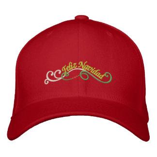 Feliz Navidad Embroidered Hat