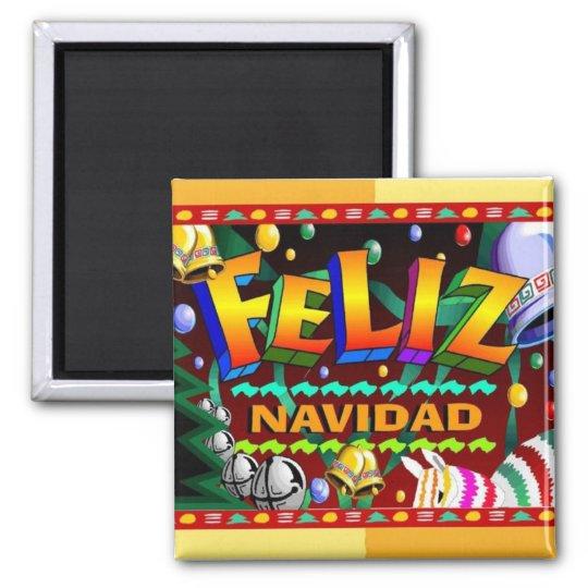 Feliz Navidad magnet