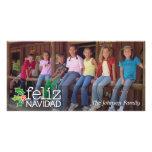 Feliz Navidad: One Large Photo Photo Card